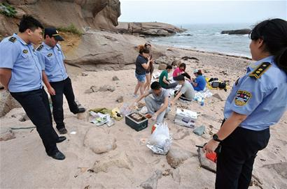 Qingdao Bans Beach BBQ