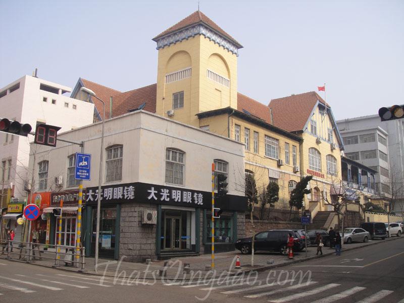 Seaman's Club (German Navy Club), Qingdao.
