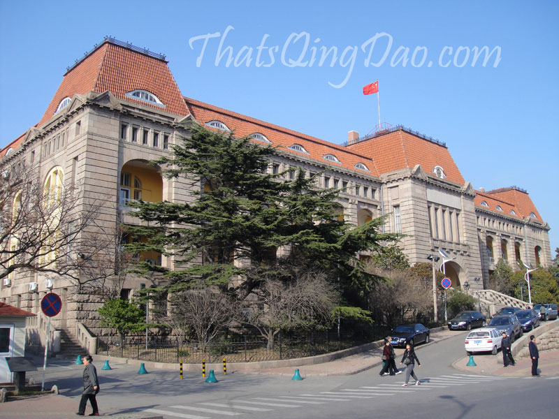 Jiaozhou Governors Hall, Qingdao Old Town.