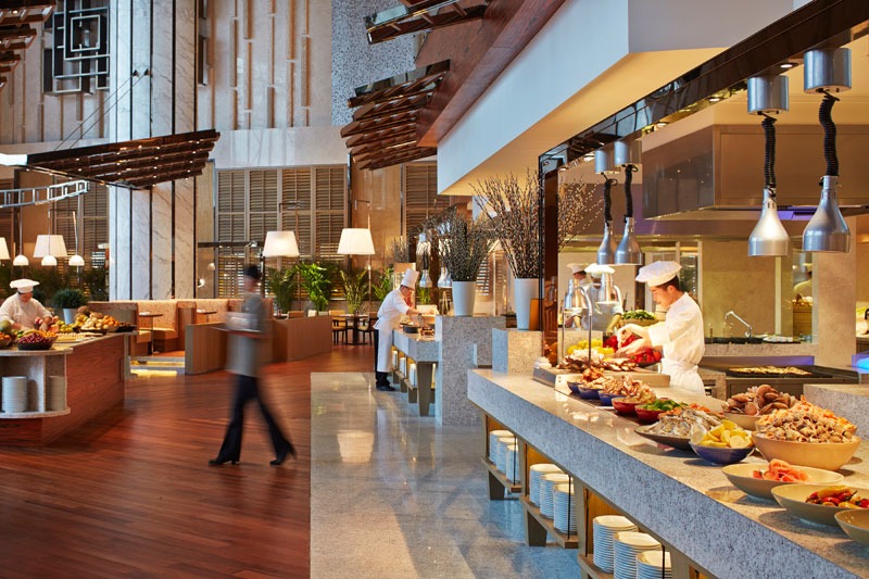Market Cafe, Hyatt Regency Qingdao.