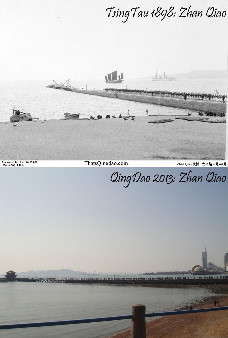 Zhan Qiao (栈桥), Qingdao.