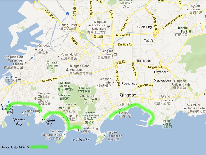 Qingdao City WiFi