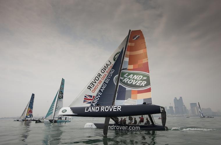 Extreme Sailing Series 2013, Qingdao.
