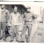 "U.S. Marines in Tsingtao: ""Hank Wester, Bill Duffy, Art Eberle"""