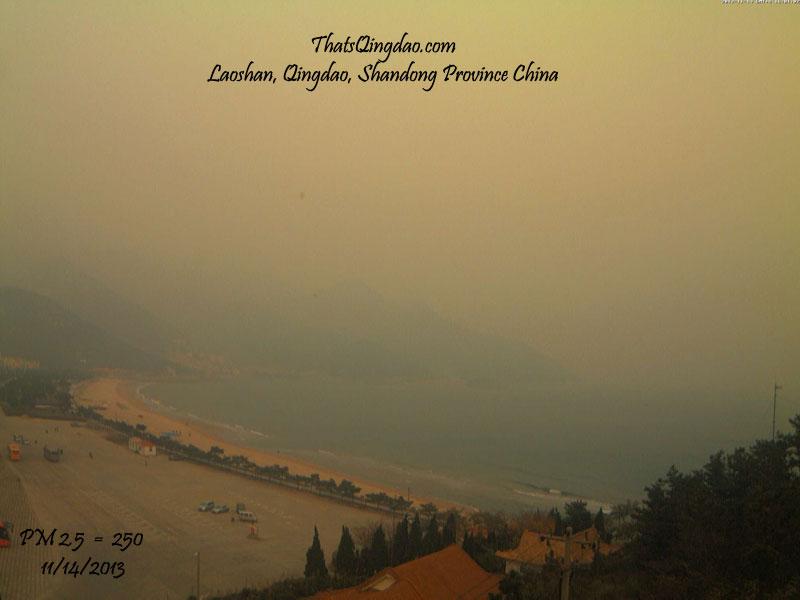 Mount Lao (Laoshan) Qingdao 11/14/2013